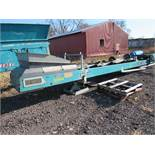 Quarry King 16 ft. Est. Portable Conveyor, S/N 316616 (2016)