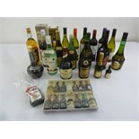 Lot 290 - A quantity of alcohol to include Whisky, Liqueur, Rum, Cognac and wines (21)