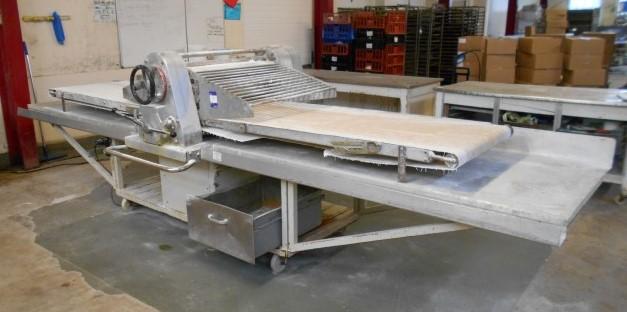 Lot 7 - Mobile Reversible Pastry Sheeter/Dough Roller (36i