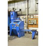 CANABLAST (2012) M1848 SHOT BLAST CABINET WITH MEDIA RECOVERY, S/N 1108