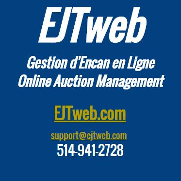 Lot 0 - Contact us for technical assistance and/or translations * support@ejtweb.com 514-941-2728