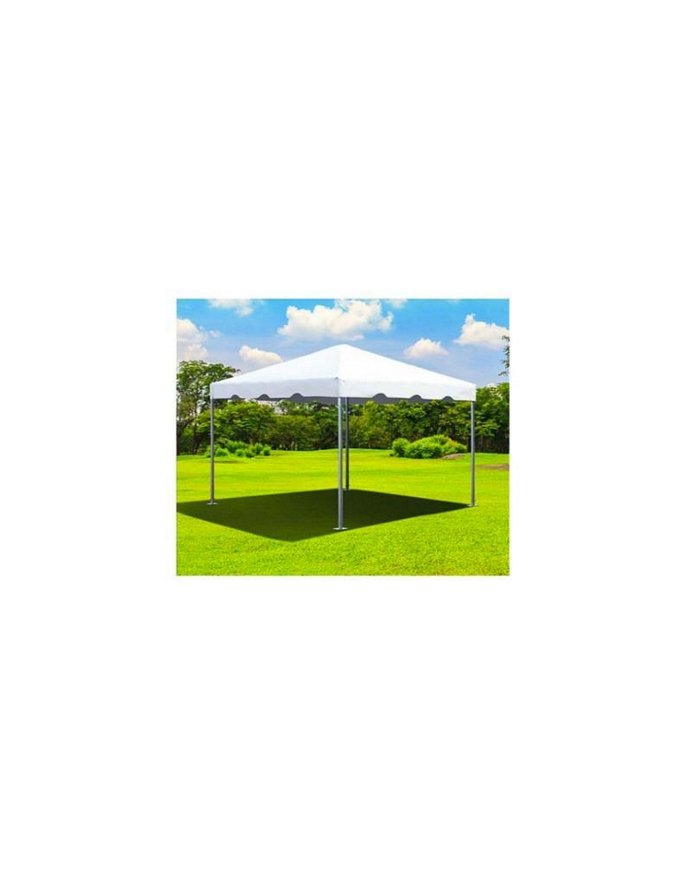 LOT: (2) Canopy -10 ft.. x 10 ft.. x 7ft.., White, Standard