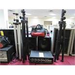 Sound Systm-100w, 2-Spkrs Stnds, I-Mic (Fender)