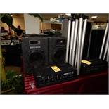 Sound System - 150W, (2) Speakers, (2) Stands, Microphone, Yorkville