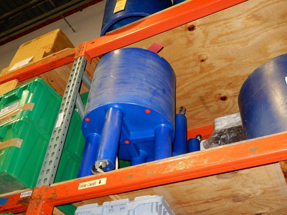 Party Cooler-Blue, Insul, W/Wheels, (8g Keg, 96 Cans) - Image 2 of 2