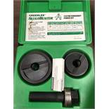 GREENLEE SLUG BUSTER KNOCKOUT PUNCH KIT; 7237BB