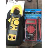CEN-TECH 7-FUNCTION MULTIMETER & IDEAL 600 AAC CLAMP METER