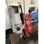MILWAUKEE MAG DRILL PRESS; S/N 8384198275794, CAT# 4203, 120V, 60-HZ