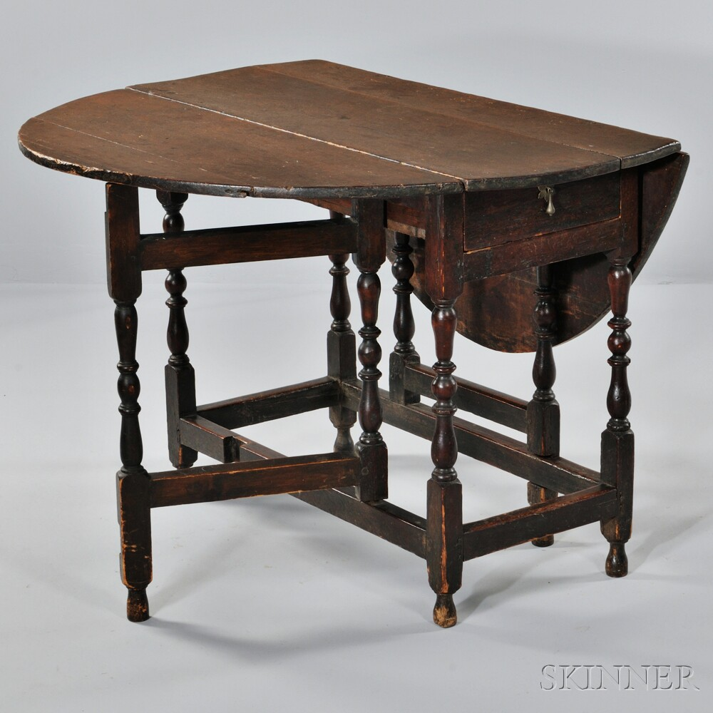 William and Mary Gate-leg Table, England, 17th century ...