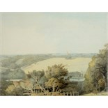 Lot 2095 - FRANCIS TOWNE (c.1739-1816) WERRINGTON PARK, DEVONSHIRE Signed; also inscribed and numbered 82 (?)