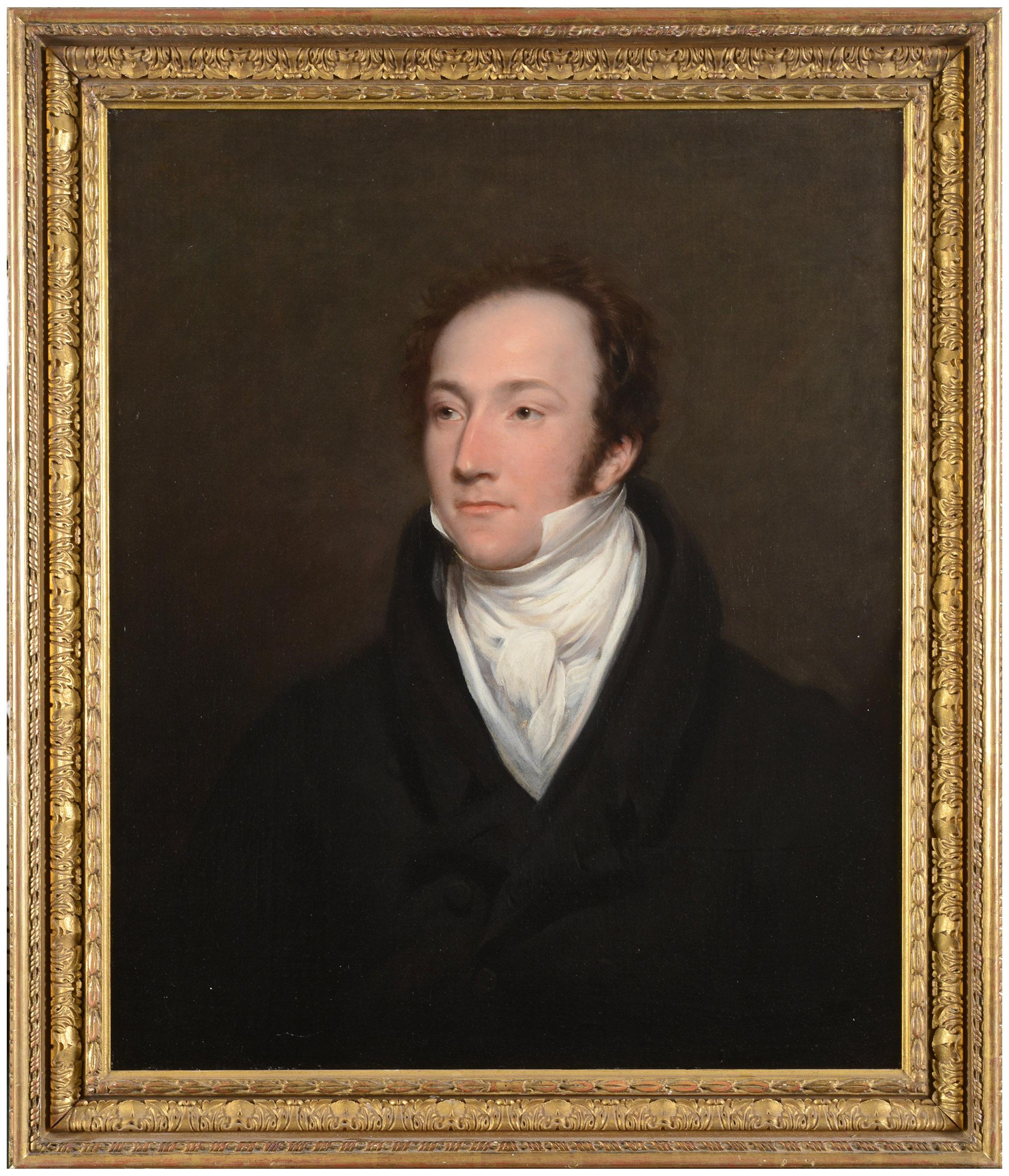Lot 2185 - SIR THOMAS LAWRENCE, PRA (1769-1830) PORTRAIT OF A GENTLEMAN, BELIEVED TO BE PHILIP JOHN MILES,
