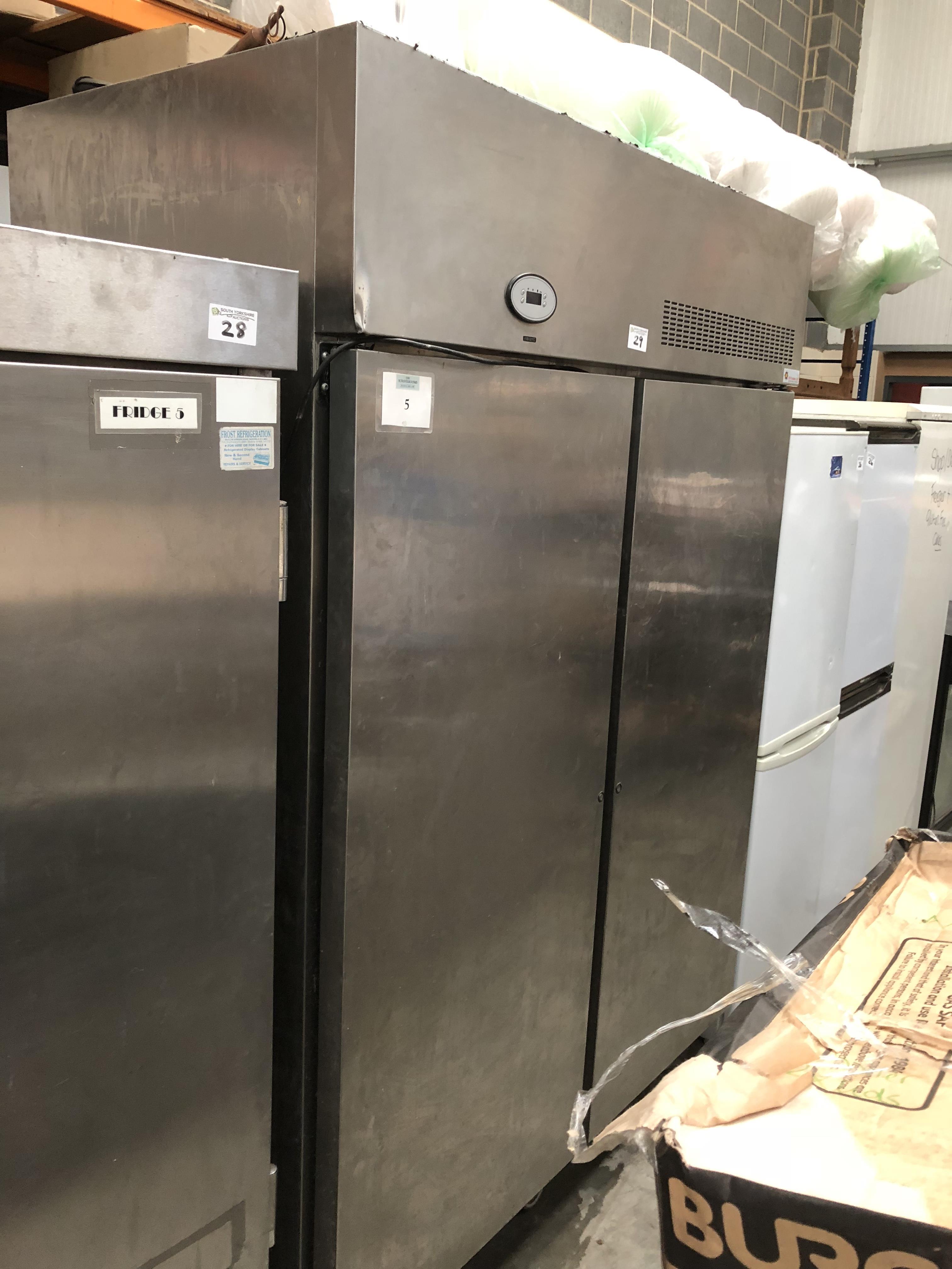 Lot 29 - Fosters Double Door Freezer