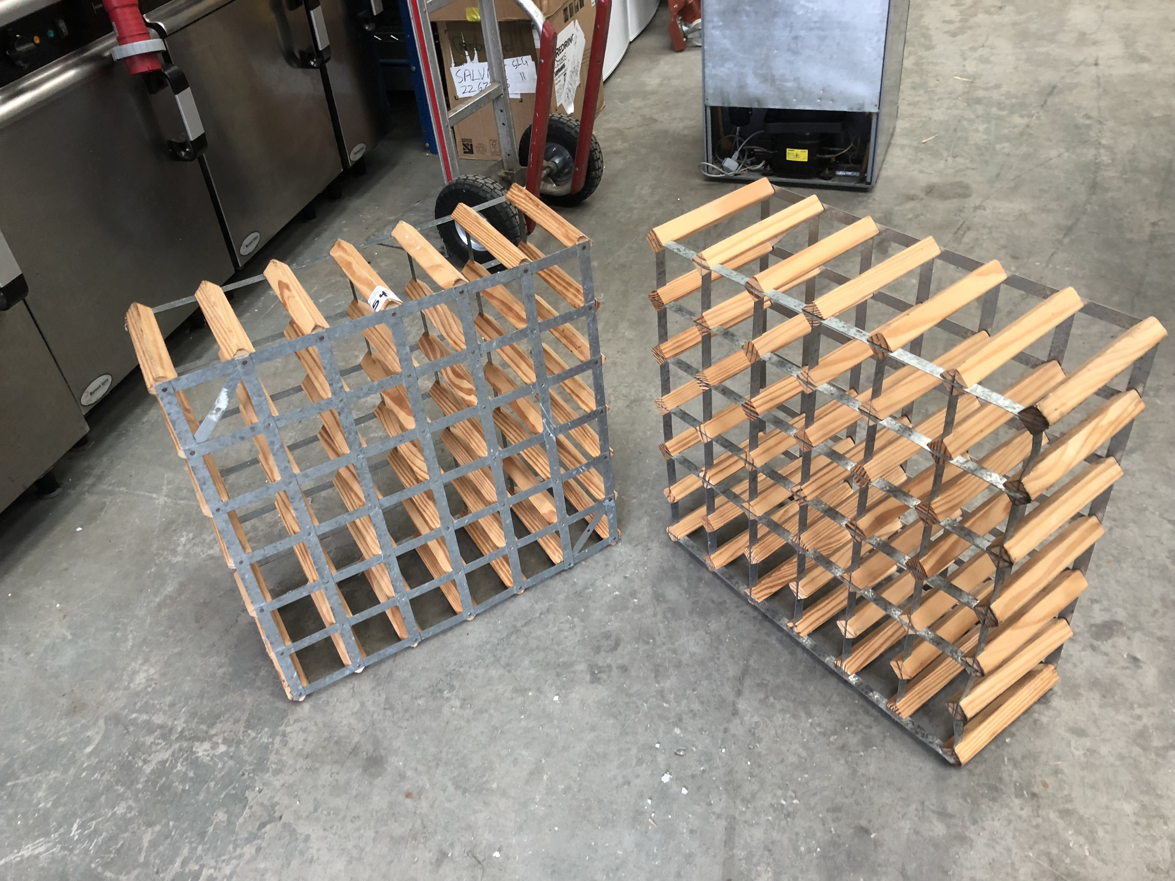 Lot 54 - 2 x Wine Racks