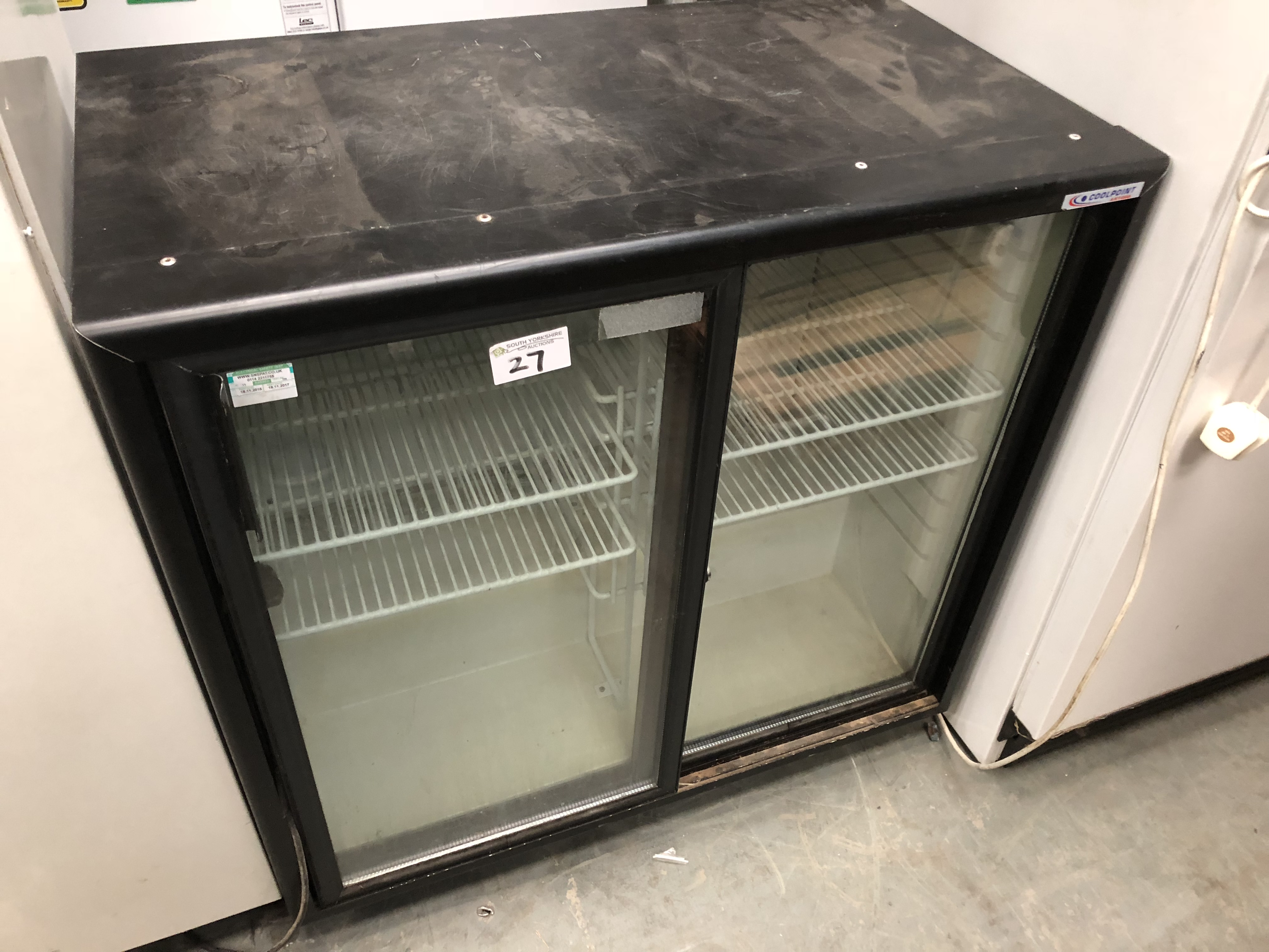 Lot 27 - Coolpoint Double Door Bottle Cooler