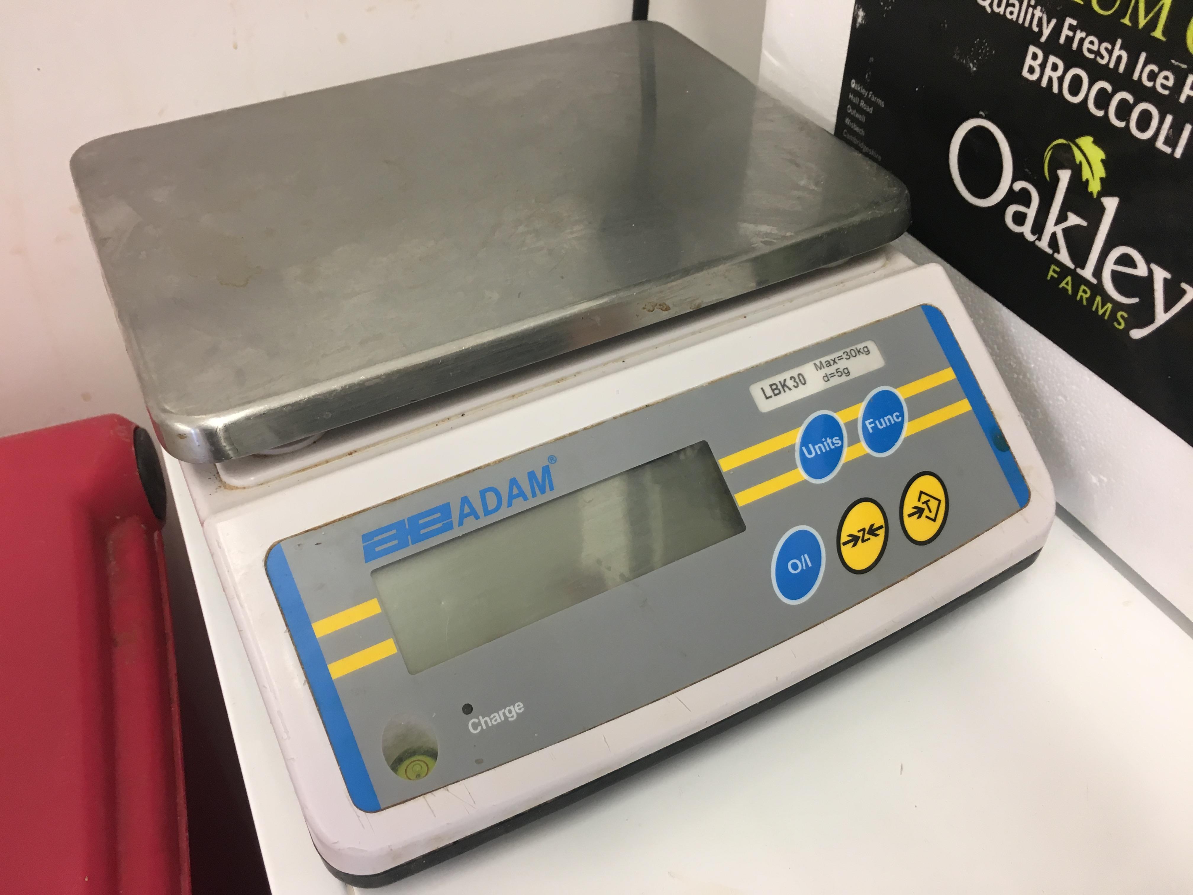 Lot 3 - A E Adam Electronic weighing scale