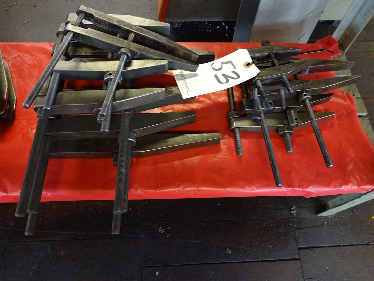 Lot 53 - LOT: (11) Assorted Clamps