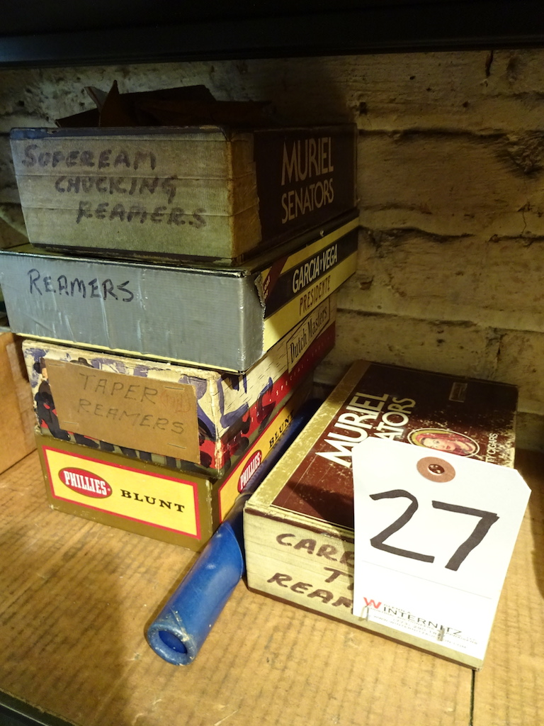 Lot 27 - LOT: Assorted Reamers