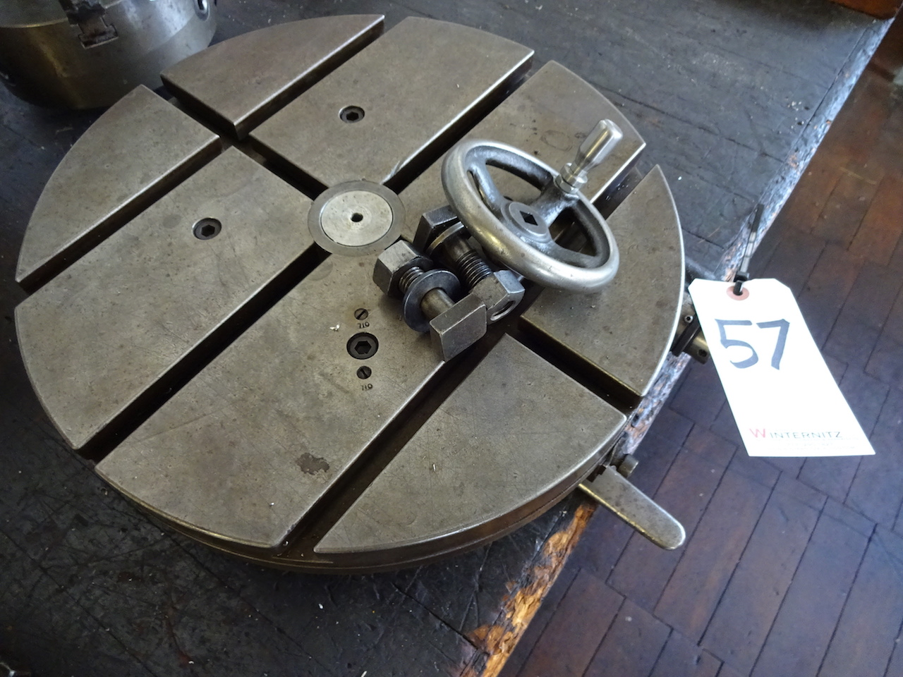 Lot 57 - Gorton 15 in. Rotary Table