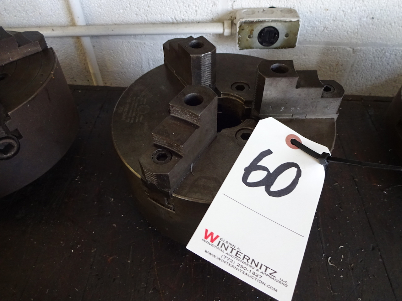 Lot 60 - 8 in. 3-Jaw Chuck