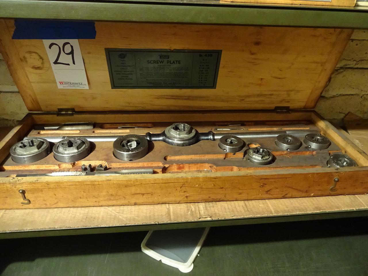 Lot 29 - Threadwell Tap & Die Set
