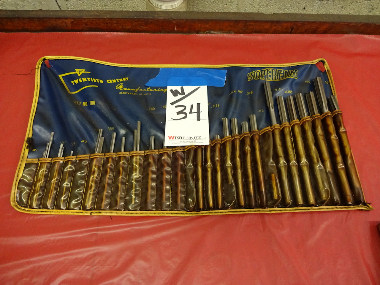 Lot 34 - LOT: Assorted Reamers