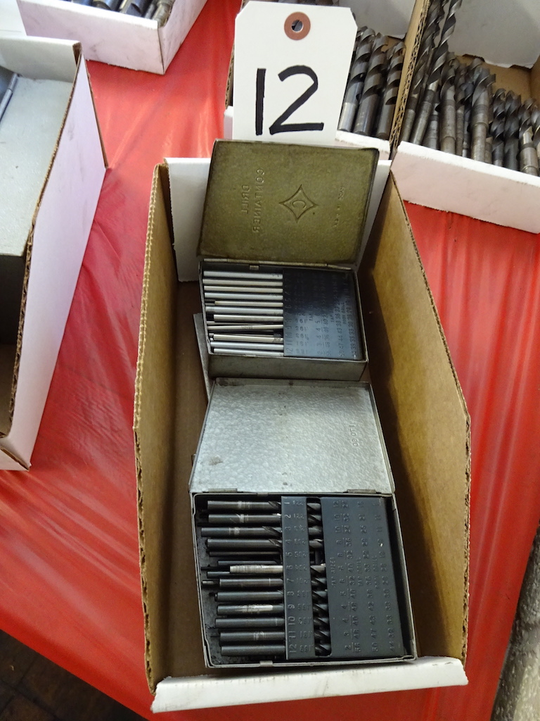 Lot 12 - LOT: (4) Assorted Drill Indexes with Drills