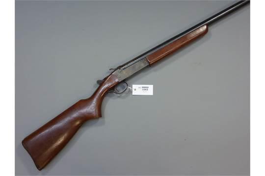 Shotgun Cert  required - Canadian H W Cooey Model 84 12 bore