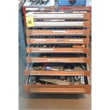 8-Drawer Tool Cabinet with Dies & Punches