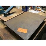 "Iron Surface Plate & Corner Rounder 16"" X 22"""