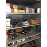 Metal Cabinet w/ contents Large Lot of Tools