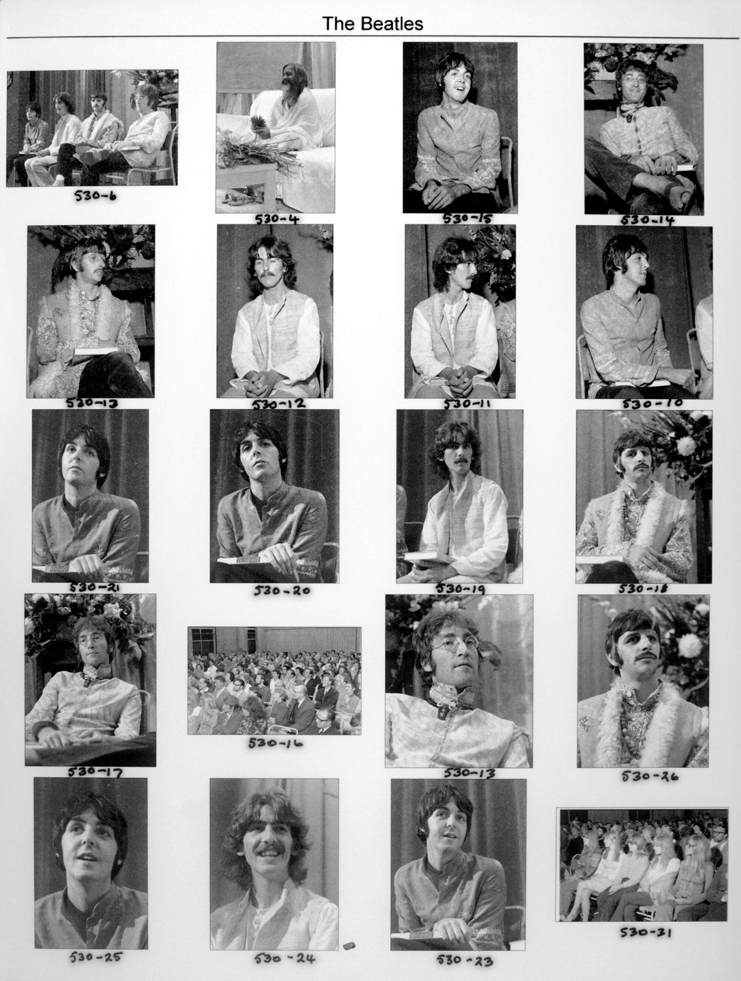 Lot 224 - THE BEATLES IN BANGOR 1967 - incredible collection of 101 previously unseen and
