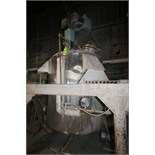 Precision Stainless Incorporated Aprox. 850 Gal. Dome-Top S/S Jacketed Mix Tank, S/N 5292/6 with