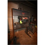 Dake Air Hydraulic Press, Model 6-475, S/N 191925 with Pump #2-63453, I-Beam and Support Die
