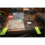 Assorted Tool and Die Sets, Mills, Drill Bits and Die Ratchet Set