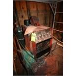 Lincoln Square Wave Tig 255 Welder, S/N 10023-U1970410835 with Cylinder, Welding Mask, Gloves,