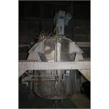 Precision Stainless Incorporated Aprox. 850 Gal. Dome-Top S/S Jacketed Mix Tank, S/N 5292/7 with
