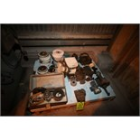 Pallet of Assorted Grinder Parts including Boyar Shultz High Speed Grinding Attachment, SN SGA-