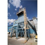"""Sly TubeJet Aprox. 320"""" H x 109"""" W x 88"""" L Pulse Jet Dust Collector with NYB 60 hp Blower, S/N"""