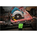 """Chicago 7-1/8"""" Electric Circular Saw, Model 35948, S/N 85110038 with Case"""