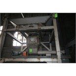 """Young Bulk Bag Access Hopper with Auger System, S/N BD0822 with 1.5 hp Motor, 1725 RPM, Aprox. 69"""" W"""