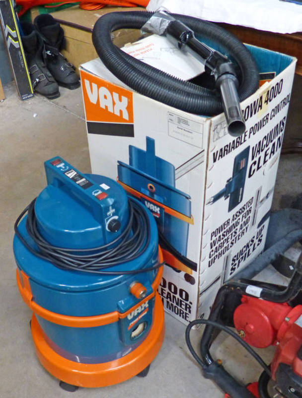 vax powa 4000 vacuum cleaner rh the saleroom com Commercial Vacuum Cleaners Best Canister Vacuum Cleaner