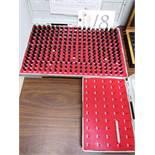 (2) Sets - 0.011 - 0.060 & 0.251 - 0.500 Pin Gauges