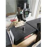 8'' - 12'' Surface Plate with Mitutoyo Absolute Gauge