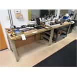 (2) Butcher Block Workbenches