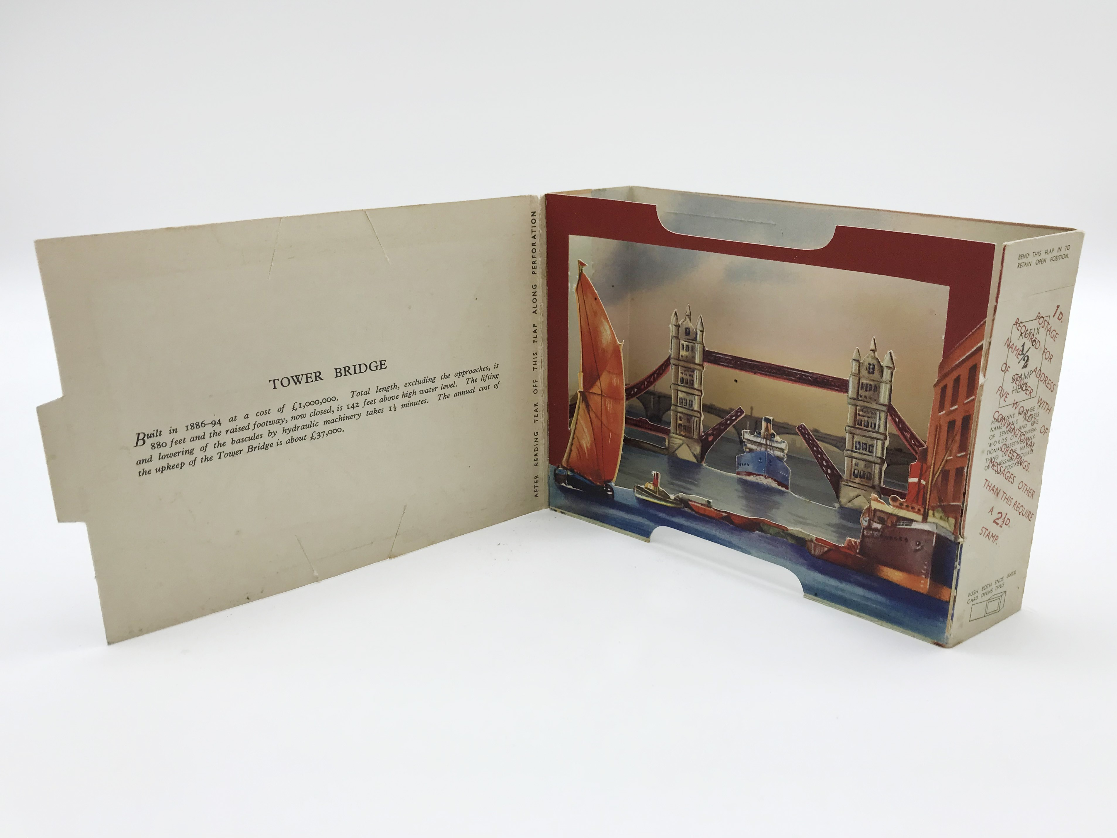 FIVE LONDON POSTCARDS - THE BRENT SERIES OF PANORAMIC VIEW CARDS - Image 2 of 13