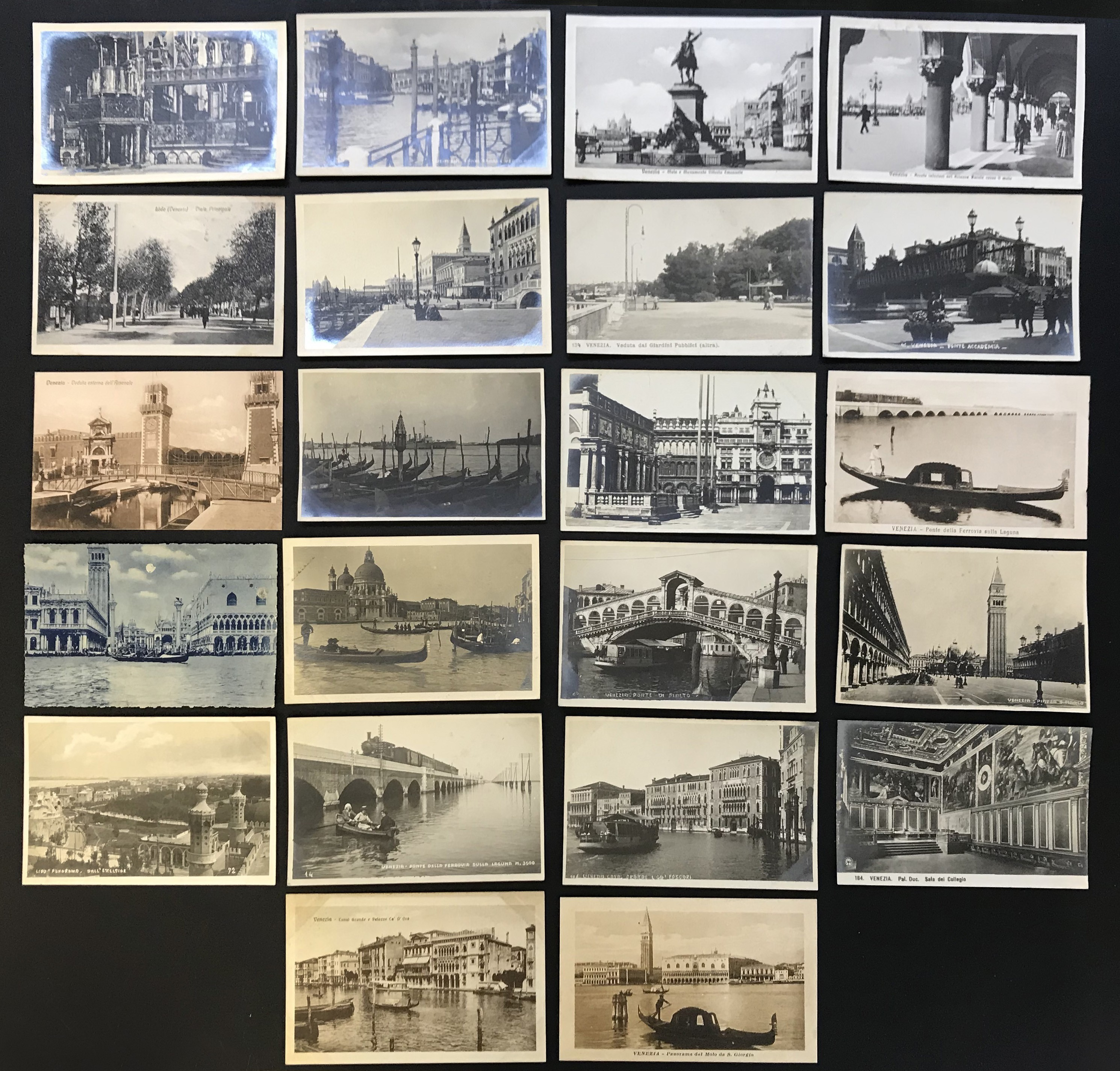SELECTION OF VENICE RELATED POSTCARDS - Image 17 of 53