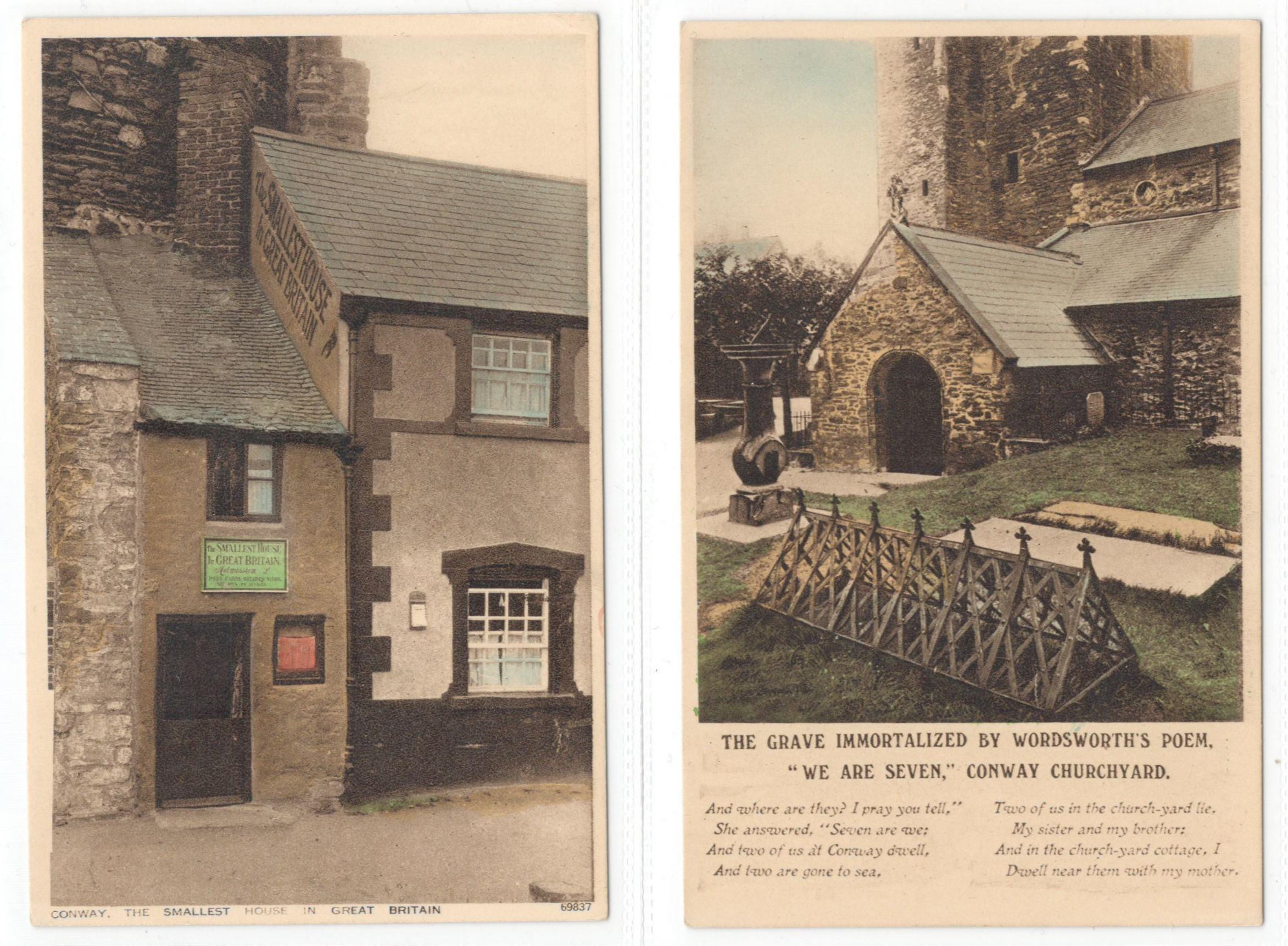 SET OF TEN POSTCARDS CONWAY - Image 3 of 4