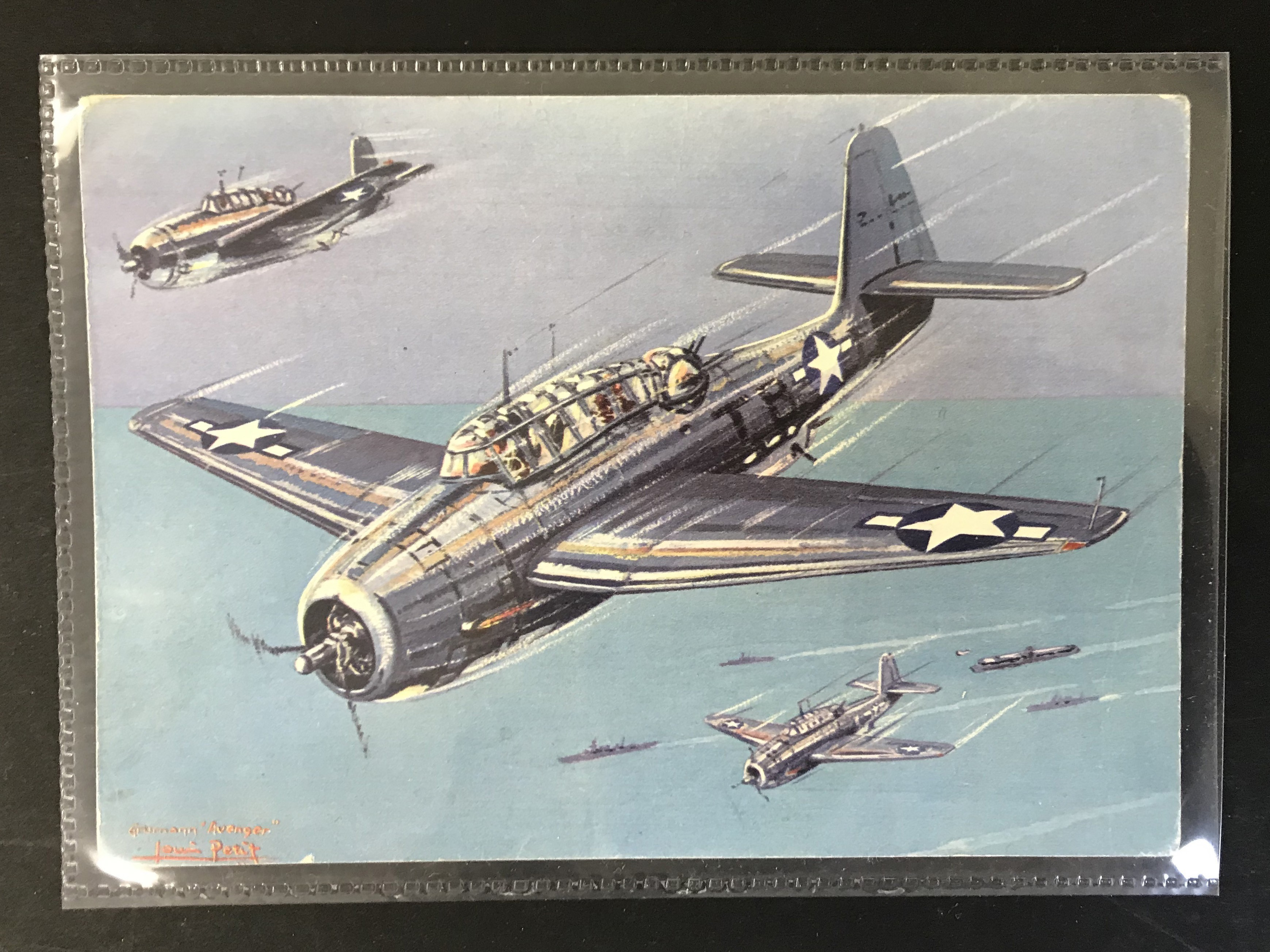GROUP OF TWELVE FRENCH PLANES RELATED POSTCARDS - VARIOUS SERIES - Image 9 of 14