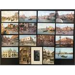 SELECTION OF VENICE RELATED POSTCARDS