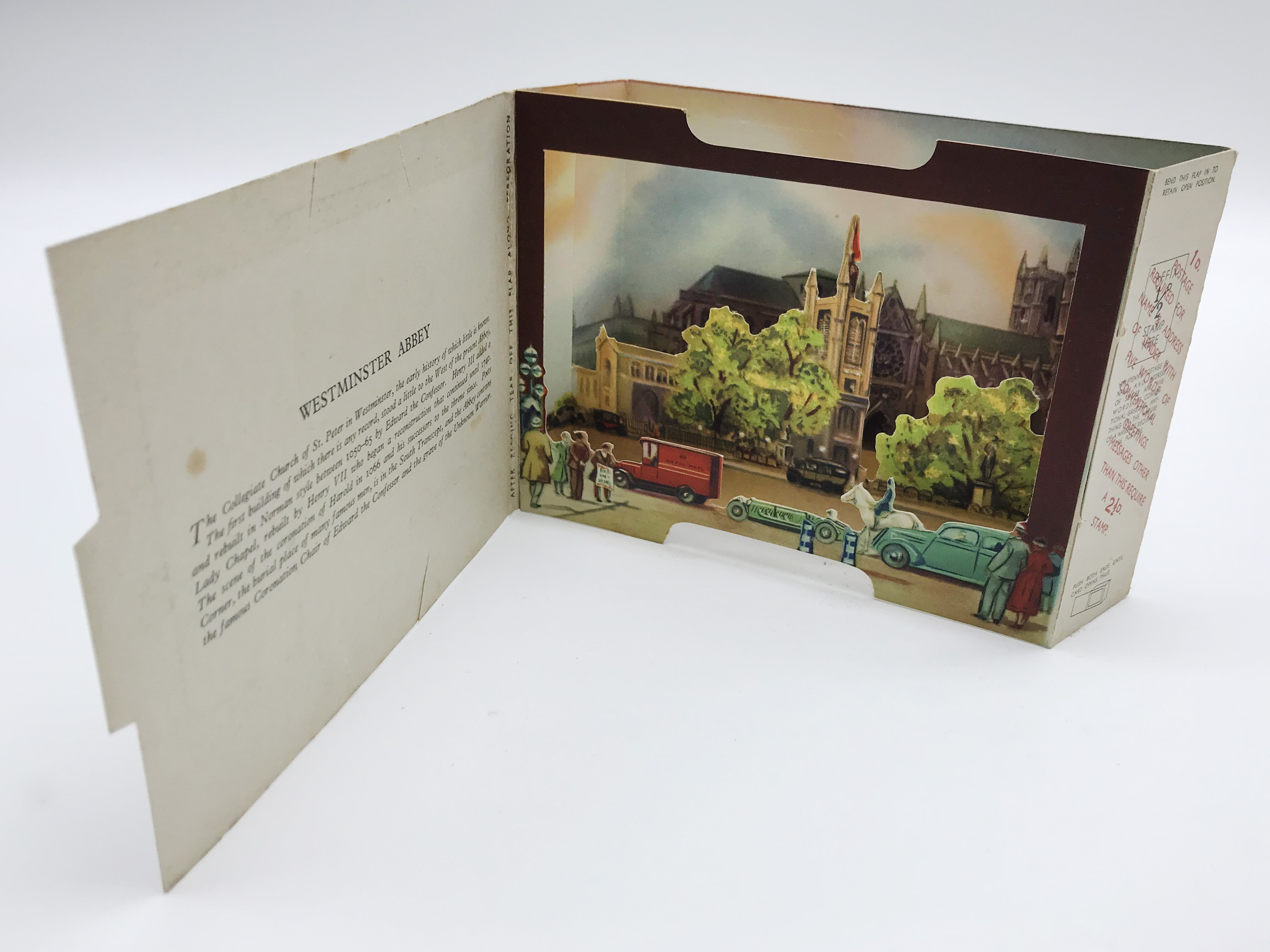 FIVE LONDON POSTCARDS - THE BRENT SERIES OF PANORAMIC VIEW CARDS - Image 6 of 13